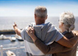 voyage avec une personne âgée